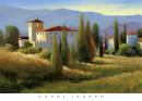 Blue Shadow in Tuscany I - Carol Jessen (91cm x 66cm)