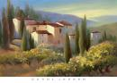 Blue Shadow in Tuscany II - Carol Jessen (91cm x 66cm)