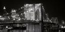 Brooklyn Bridge at Night - Alan Blaustein (91cm x 45cm)