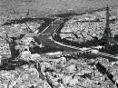 Aerial View of Section of Paris - France - Charles Rotkin (80cm x 60cm)