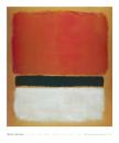 Untitled (Red, Black, White on Yellow), - Mark Rothko (76.2cm x 91.4cm)