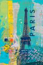 Cities III - Paris - Ken Hurd (40cm x 61cm)