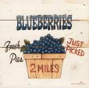 Blueberries Just Picked - David Carter-Brown (30.5cm x 30.5cm)
